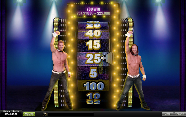 Chippendaless Wheel of Fortune
