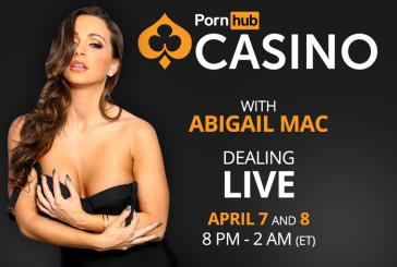 PornHub Casino invites Abigail Mac