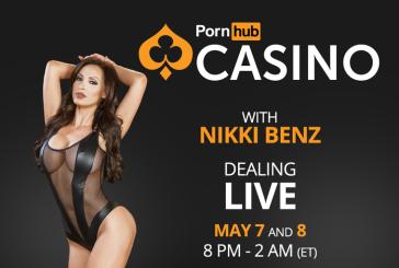 PornHub Casino invites Nikki Benz