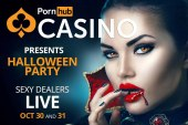 Do you dare to join Pornhub Casino's Halloween experience?