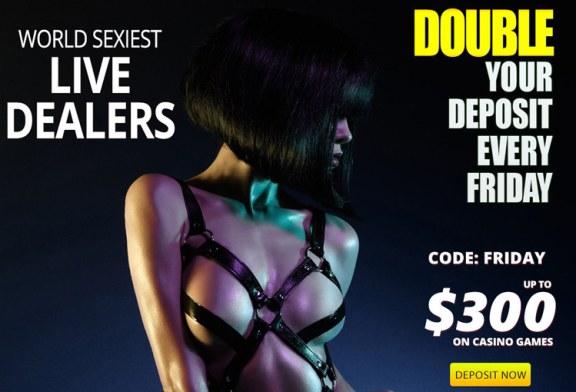Friday Bonus at Pornhub Casino
