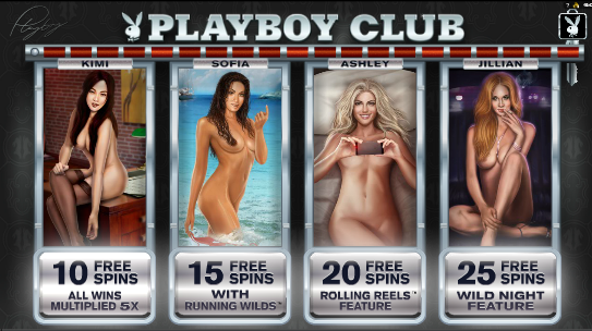 Adult Slots like Playboy Club Slot