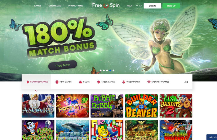 FreeSpin Casino Review