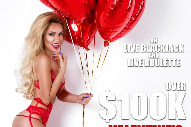 PornHub Casino: Valentine's Casino Bonus 100K in Prizes!