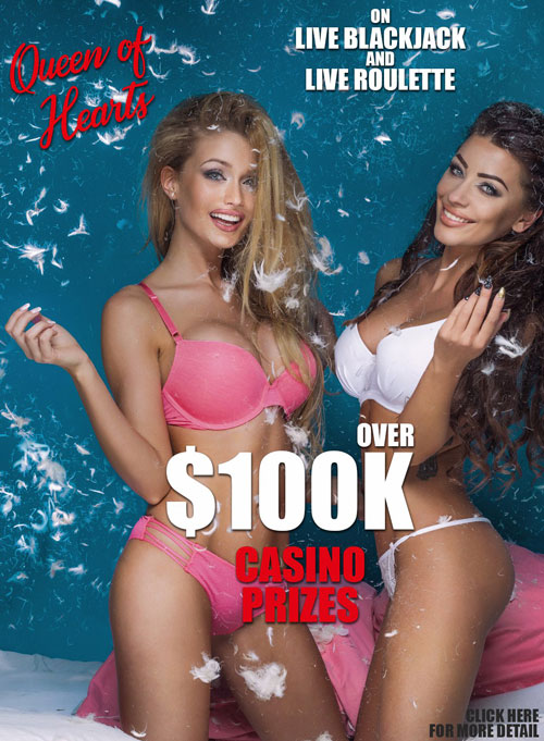 Win $5,000 by winning the Queen's Heart!
