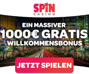 Spin Casino spielen!