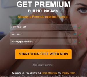 get free pornhub casino