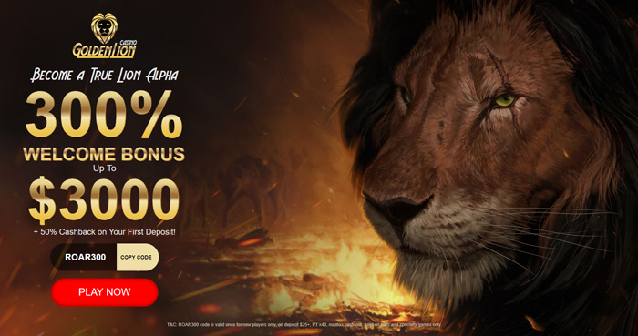 Golden Lion Casino offer